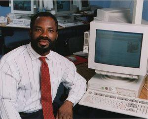 Philip Emeagwali, a black technology pioneer